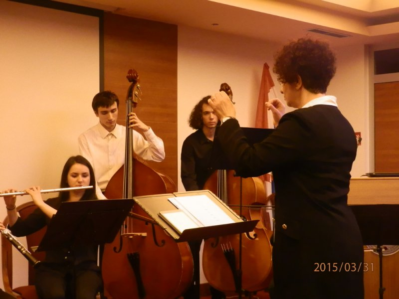 Grupa za Novu glazbu,Zadar 30. 3. – 1. 4. 2015.