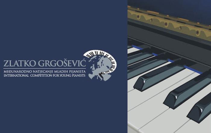 """<small>MEĐUNARODNO NATJECANJE MLADIH PIJANISTA</small></br> """"Zlatko Grgošević"""", Sesvete"""
