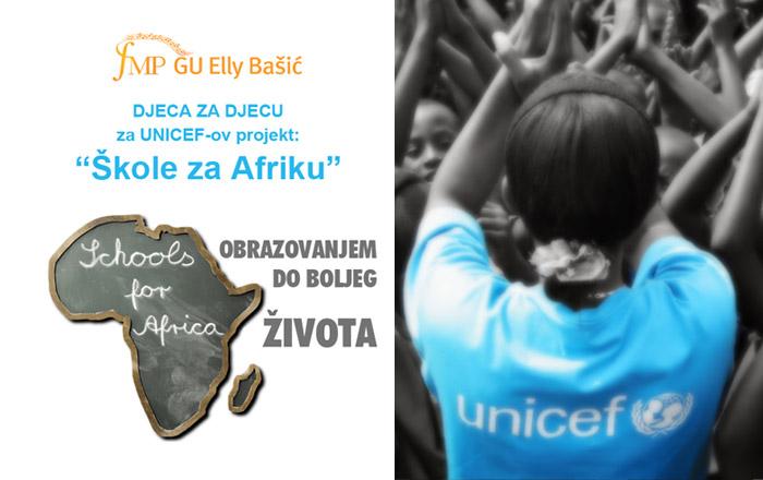 GU Elly Bašić  za projekt &#8220;Škole za Afriku&#8221;</br>