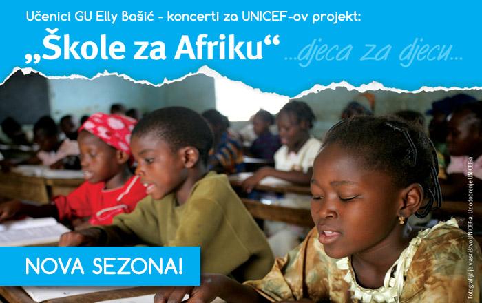 KONCERT &#8211; GU Elly Bašić  za projekt &#8220;Škole za Afriku&#8221;</br><strong>PETAK, 30. siječnja u 19.30 sati</strong>